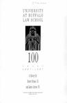 University at Buffalo Law School 100 Years: 1887–1987
