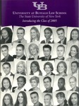 Introducing the Class of 2005 by University at Buffalo School of Law