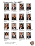 Introducing the Class of 2016 by University at Buffalo School of Law