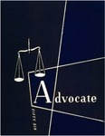 The Advocate 1956 by University at Buffalo School of Law