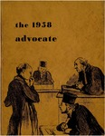 The Advocate 1958 by University at Buffalo School of Law