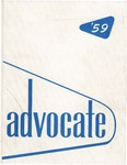 The Advocate 1959 by University at Buffalo School of Law