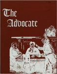 The Advocate 1961 by University at Buffalo School of Law