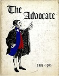 The Advocate 1963 by University at Buffalo School of Law