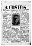 The Opinion Volume 1 Number 1 – November 29, 1949