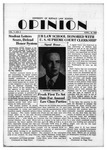 The Opinion Volume 1 Number 3 – April 10, 1950 by The Opinion