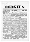 The Opinion Volume 1 Number 4 – June 2, 1950