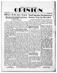 The Opinion Volume 2 Number 1 – October 1, 1950 by The Opinion