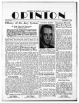 The Opinion Volume 2 Number 2 – December 11, 1950 by The Opinion