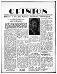 The Opinion Volume 2 Number 4 – March 12, 1951 by The Opinion