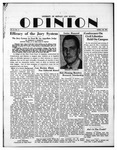 The Opinion Volume 2 Number 5 – April 30, 1951 by The Opinion