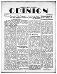 The Opinion Volume 3 Number 2 – December 1, 1951 by The Opinion