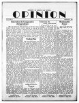 The Opinion Volume 3 Number 3 – February 1, 1952 by The Opinion