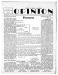 The Opinion Volume 3 Number 4 – April 1, 1952 by The Opinion