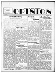 The Opinion Volume 4 Number 3 – December 1, 1952 by The Opinion