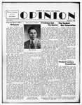 The Opinion Volume 5 Number 1 – September 1, 1953 by The Opinion