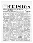 The Opinion Volume 5 Number 2 – May 1, 1954 by The Opinion