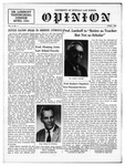 The Opinion Volume 7 Number 1 – April 1, 1957 by The Opinion