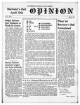 The Opinion Volume 8 Number 3 – March 1, 1958 by The Opinion