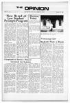 The Opinion Volume 11 Number 1 – October 20, 1970