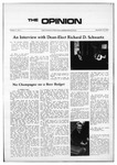 The Opinion Volume 11 Number 3 – November 16, 1970