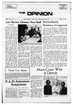 The Opinion Volume 11 Number 6 – March 19, 1971