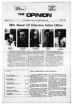 The Opinion Volume 11 Number 8 – April 29, 1971