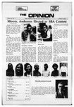 The Opinion Volume 12 Number 3 – October 14, 1971