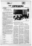 The Opinion Volume 12 Number 4 – November 2, 1971