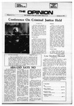 The Opinion Volume 12 Number 5 – November 23, 1971 by The Opinion
