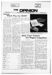 The Opinion Volume 12 Number 7 – February 3, 1972
