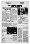 The Opinion Volume 12 Number 9 – March 9, 1972