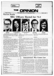 The Opinion Volume 12 Number 11 – April 20, 1972