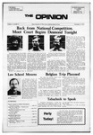 The Opinion Volume 13 Number 4 – November 21, 1972