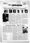 The Opinion Volume 13 Number 5 – December 7, 1972