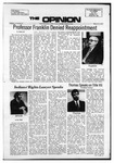 The Opinion Volume 13 Number 8 – March 15, 1973