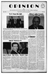The Opinion Volume V Number 1 – May 1, 1965 by The Opinion