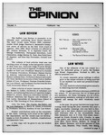 The Opinion Volume VI Number 1 – February 1, 1966 by The Opinion