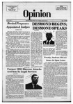 The Opinion Volume 15 Number 2 – October 17, 1974