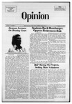 The Opinion Volume 15 Number 3 – October 31, 1974