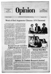 The Opinion Volume 15 Number 5 – December 5, 1974 by The Opinion
