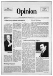 The Opinion Volume 16 Number 2 – October 9, 1975 by The Opinion