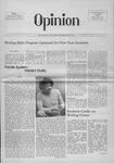 The Opinion Volume 16 Number 3 – October 30, 1975 by The Opinion