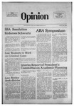 The Opinion Volume 16 Number 6 – February 26, 1976 by The Opinion
