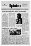 The Opinion Volume 16 Number 8 – April 22, 1976 by The Opinion