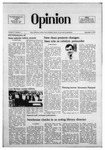 The Opinion Volume 17 Number 1 – November 9, 1976