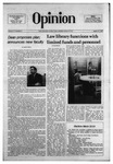 The Opinion Volume 17 Number 9 – March 17, 1977 by The Opinion