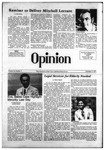 The Opinion Volume 18 Number 4 – November 3, 1977