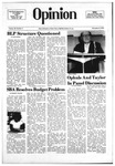 The Opinion Volume 20 Number 5 – November 8, 1979