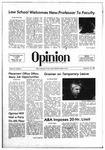The Opinion Volume 21 Number 1 – September 18, 1980